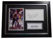Allan Wells Signed A4 Framed Autograph Photo Display Olympic 100 Metres Coa