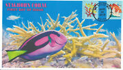 Jvc Cachets -2019 Coral Reefs First Day Cover Staghorn Coral Very L.e. Of 12