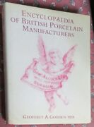 Encyclopaedia Of British Porcelain Manufacturers,marks By Godden And Worcester Cat