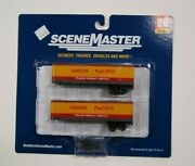 Ho Scale Walthers Scenemaster 949-2406 35 Ft Trailer 2-pack, Union Pacific