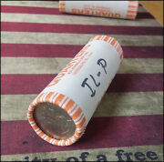 2003 P Illinois State Quarters Unc Bank Paper Wrapped Roll Heads/tails - Bino