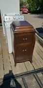 Antique Victor Victrola 1919 Victor Talking Machine Vv-xi A-637940 It Works And