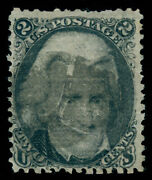 Momen Us Stamps 84 D Grill Used Aps Cert