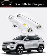 Fits For Jeep Compass 2017-2021 Roof Rail Cross Bars Crossbars Carrier Racks