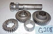 Used Oem '61 - '68 Triumph Tr3b Tr4, And Tr4a Laygear Assembly Full Synchro G208
