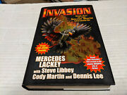 Invasion By Cody Martin, Dennis Lee And Mercedes Lackey 2011, Hardcover Signed