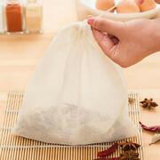 Reusable Nut Milk Strainer Bag Tea Coffee Juices Filter Cheese Cloth Filter Bags