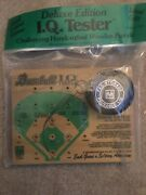 Baseball Iq.tester Deluxe Edition Vintage Wooden Wood Board Puzzle Peg Game.