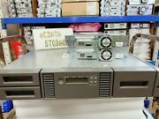 Hp Msl2024 Lto5 Ultrium3000 Sas Tape Library Bl537a With 2 Lto5 Sas Hh Drive