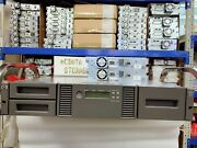 Hp Msl2024 Lto5 Ultrium 3000 Fc Tape Library Bl542a With 2 Lto5 Fc Hh Drive