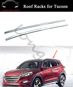 Roof Rail Carrier Rack Fits For Hyundai Tucson 2015-2019 Baggage Luggage Bar