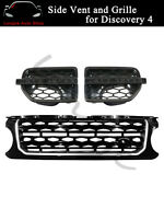 Front Grill Vent Grille Mesh Fits For Land Rover Discovery 4 Lr4 2010-2013