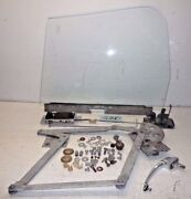 Used Oem ... And03968 - And03980 Mgb Left Side Door Window Regulator And Hardware G220