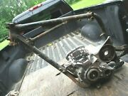 1972 Triumph Trident Triple T150 Frame And Matching Engine Motor Cases