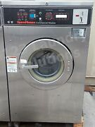 Speed Queen 20lb. Front Load Washer Sc20mdzou60001 3ph 220v 60hz Used