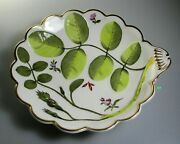 Royal Worcester Blind Earl Shell Dish 8 Raised Design -multicolor Perfect