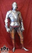 Full Body Armor Rare Gothic Suit Of Armour Of Maximilian Medieval Collectible