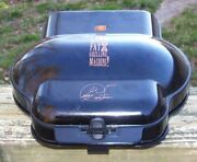 George Foreman Fat Reducing Grilling Machine Grill Black Works Great Condition