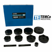 Temco Industrial 2-1/2, 3, 3-1/2, 4 Conduit Punch And Die Set For Knockout