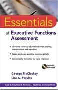 Essentials Of Executive Functions Assessment By George Mccloskey English Paper