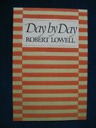 Original Dust Jacket Artwork For Day By Day By Robert Lowell