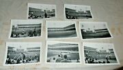 8- Vintage August 1966 Old B/w Photo Lot Old Chicago White Sox Comiskey Park