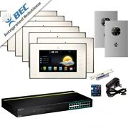 7 Monitor Apartment Access Control Home Security Ip Video Intercom Kit System