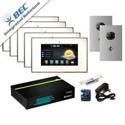 5 Monitor Apartment Access Control Home Security Ip Video System Intercom System