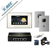1 Monitor Apartment Access Control Home Security Ip Video Intercom Kit System
