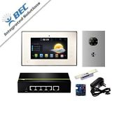 1 Monitor Home Security Apartment Entry Monitoring Ip Video Intercom Kit System