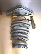 Enerpac Conduit Bender, P464 Pump, 18 Hydraulic Cylinder, 2.5-4 Shoes Used
