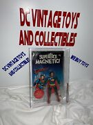 Vintage 1979 Mego Superman Afa 60 Magnetic Italy Release Only Rare Dc Comics