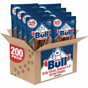 Valuebull Bully Sticks For Dogs Medium 5-6 Inch Varied Shapes 200 Count