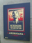 Shepard Fairey Obey Americana Neil Young Box Set 13 Signed Prints
