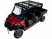 Spike Polaris Ranger Full-size Crew 2-pc Tinted Polycarbonate Roof _ 88-9520-t