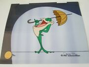 Chuck Jones Signed Michigan J. Frog Limited Edition Cel 200 Made Retail 995