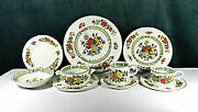 Villeroy And Boch Fine China. Service For 8. Pattern Summer Day