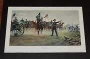 Mort Kunstler - There's The Devil To Pay - Civil War Print - Mint