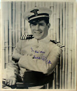 Photograph - Rudy Vallee Andndash Signed - Wwii Coast Guard Band