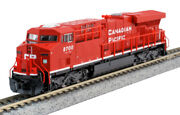 Kato N Scale Es44ac Locomotive Canadian Pacific Cp 8700 Dc Dcc Ready 1768934