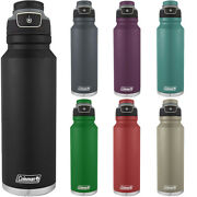 Coleman 40 Oz. Free Flow Autoseal Insulated Stainless Steel Water Bottle