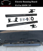 Deployable Electric Running Board Side Step Nerf Bar Fits For Bmw X5 F15 2014-18