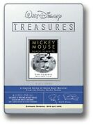 Walt Disney Treasures Mickey Mouse In Black And White Dvd 2002 Limited