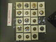 Boy Scout Collection Tenderfoot Rank Pins Patrol Leader 7646gg