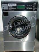 Maytag Front Load Coin Operated 18lb. Washer Mfr18dcws 1 Ph 115v Used