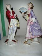 Pair Of Rosenthal Porcelain Figurines - Mint Condition