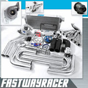 Supra Is300 Sc300 Gs300 2jz-ge 2jzge Gt35 T4 Turbo Kit .68ar 3and039and039 V-band