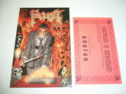 Faust Book Of M 1 Vf/nm Previews Exclusive Prism Foil Variant W/coa Only 500