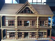 Dollhouse Handcrafted One Of A Kind Extreme Detail Excellent Conditio 44 X 21andnbsp