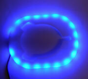 Blue 18 Led Accent Bezel For Rod Holder Accent 4 3/4 Od X 3 5/8 Od